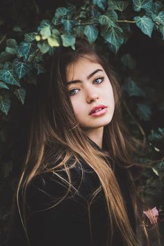 Beautiful girl with green eyes by Jovana Rikalo