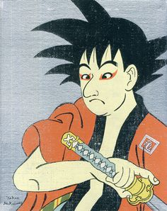 Ukiyoe Character series on Behance #japan