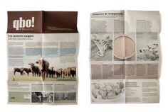 qbo! | Silvia Mallofre #rustic #graphic #mallofre #silvia #brochure