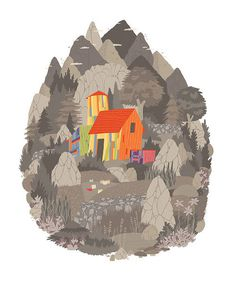 Artist illustrator Luke Pearson #illustration #pearson #luke