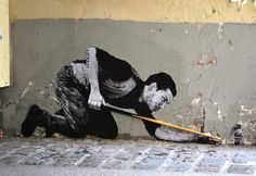 Street Art by Charles Leval #leval #charles #art #street