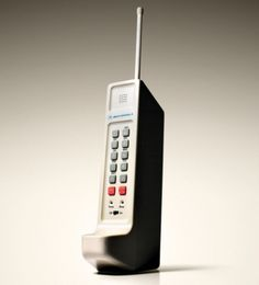 Jay Mug — Iconic Tech Prototypes - Motorola DynaTAC Cell... #tech #design