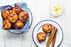 Food by Tom Leighton #summer #muffins #food