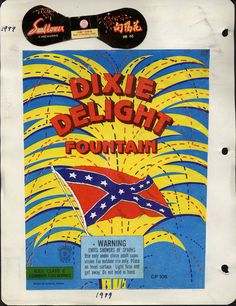 DIXIE DELIGHT #packaging #delight #dixie #fireworks