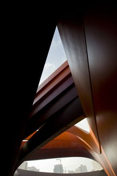 Israeli Hub For Creativity In The Field of Design: Museum Holon #interior #design #photography #architecture #angular