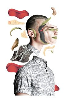 22 days, 22 styles of digital collage on Behance #collage