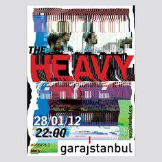 the Heavy • garajistanbul • Yigit Karagoz #distortion #glitch #poster