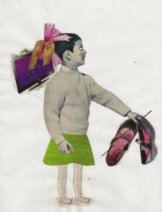 MIRADA LINDA #tomas #salazar #illustration #la #influye #collage #tv