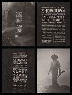 jesse arneson #photography #bw #poster #typography