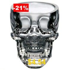 Crystal #Skull #Whiskey #Glass #Cup #Drinking #Ware #Bar #- #TRANSPARENT