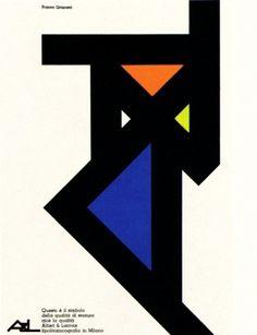 Franco Grignani Illustration 8 | Flickr - Photo Sharing! #graphicdesign #poster