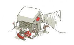 tumblr_m0vqebWibx1qbkntmo1_1280.png (PNG Image, 1280x794 pixels) #illustration #zombie #ski patrol