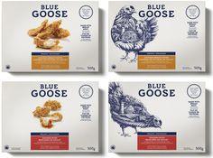 Embalagem para Blue Goose Pure Foods