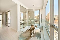 Spiral slide New York penthouse by LEVEL Architects  (3)