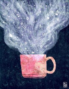 LITTLE テアシ - Cosmos Illustrations #illustration #cosmos