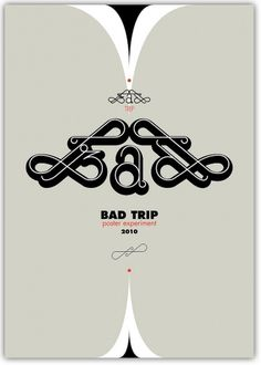 All sizes | bad trip | Flickr - Photo Sharing! #papagrigoriou #greg #poster #typography