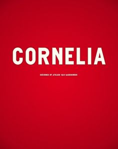 Novo Typo - Cornelia #novo #design #typeface #typo #typography