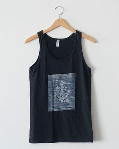 Joy Division Tank #rock #yacht #tank #black #eagle #nonprofit #joy #anchor #organization #division #nautical