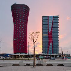 CJWHO ™ (Porta Fira Towers | Toyo Ito AA + Fermín Vázquez...) #spain #design #photography #architecture #barcelona