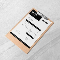 Photography Invoice Template Modern Invoice Professional | Etsy