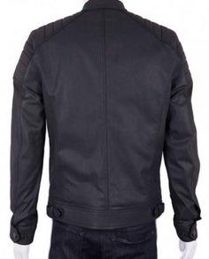 Josh Segarra Arrow Padded Leather Jacket (4)