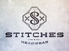 Stitches Headwear #jones #branding #mike #texture #headwear #logo