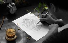 Invitation typography - jimmi tuan #vietnam #wedding #lettering #workplace #studio #poster #tuan #hand #jimmi #typography