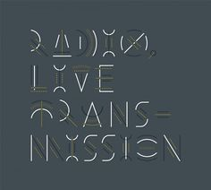 Erik Marinovich – Friends of Type – Radio, Live Transmission #type