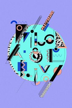 inspirationos #shapes #pattern #art #80s