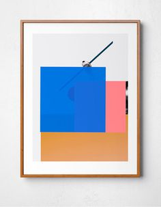 Design Print by Benjamin Savignac #design #colors #contemporary #modern #print #design #graphic #savignac www.savignacillustrations.com