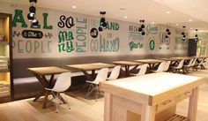 Holiday Inn mural #illustration #typography #art direction