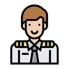 See more icon inspiration related to steward, job, professions and jobs, air hostess, flight attendant, profession, airplane, service, user, avatar and profile on Flaticon.