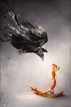 MadinSpain 2008 by ~he1z on deviantART #mouse #photoshop #manipulation #crow #cobra
