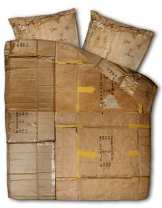 Cardboard Comfort » Yanko Design #bed #cardboard