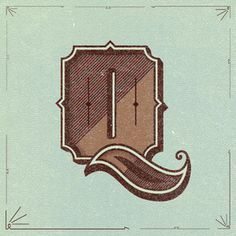 Q.jpg #vector #lettering #type #letter #q #beautiful