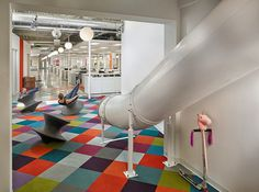 Stantec Designs Headquarters for Hospitality Upholstery Leader Valley Forge Fabrics 4