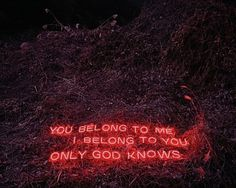 Neon Text Installations by Lee Jung | 123 Inspiration #text #korea #seoul #south #photographer