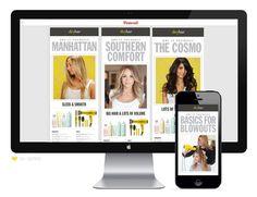 Drybar #pinterest #hair #drybar #retail #media #web #social