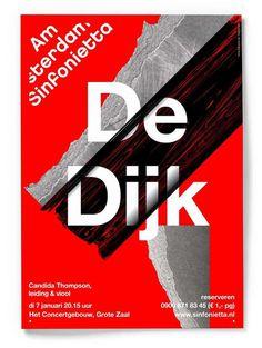 Studio Dumbar: Amsterdam Sinfonietta Visual Identity & Posters #dumbar #sinfonietta #amsterdam