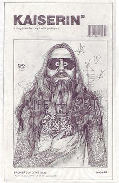 John Paul Thurlow, Covers | The Import Design Blog #life #illustration #kaiserin #art
