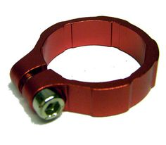 Lamptron Liquid Hose Clamp Red 3/4 #anodized