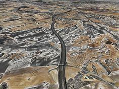 Edward Burtynsky WATER Web Gallery #burtynsky #water #aerial
