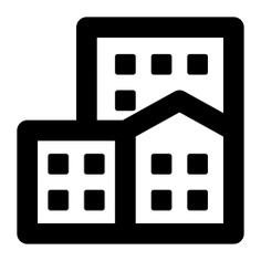See more icon inspiration related to block, flat, apartment, office, residential and buildings on Flaticon.