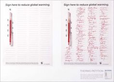 WWF global warming: Petition #print