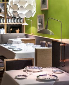 Cozy Restaurant with Playful Contemporary Design - #restaurant