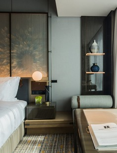 guest room detail / Cheng Chung Design