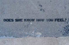 Sidewalk Psychiatry « Candy Chang #graffiti #psychiatry #sidewalk