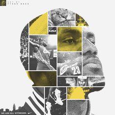 LeBron James 'Face of Cleveland' on Behance