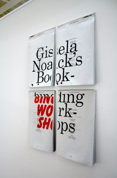 Make Mistakes. #typography #poster #exhibition #clever