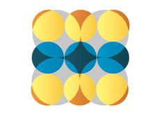 dizzy #abstract #africa #yellow #design #graphic #orange #circles #south #afica #kimberley #art #blue #dizzy